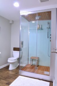 renovation shower
